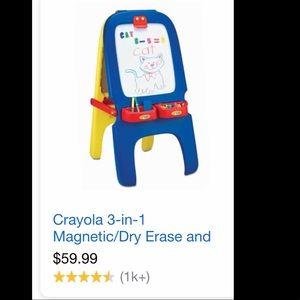 Crayola Magnetic & Chalk Board